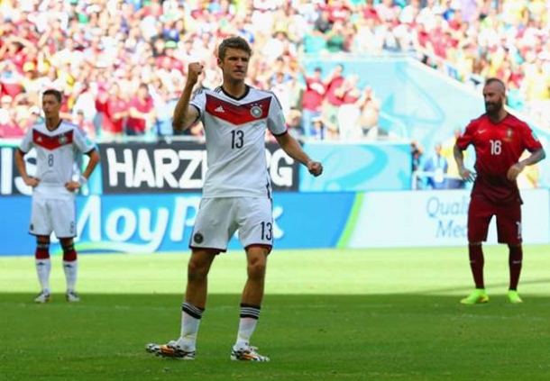 Thomas Muller Man Of The Match Jerman - Portugal