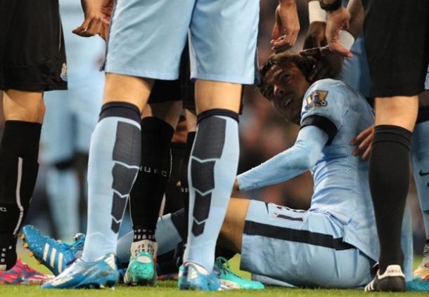 Manchester City Menunggu Hasil Check-up David Silva